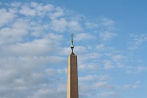 Place Saint-Pierre, devant le Vatican.