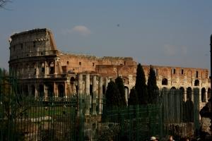 Le Colisée vu du Foro Romano