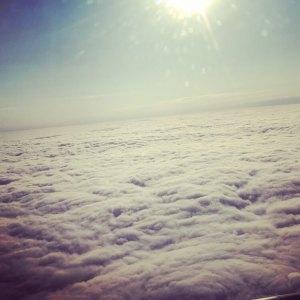 Vue depuis l'avion